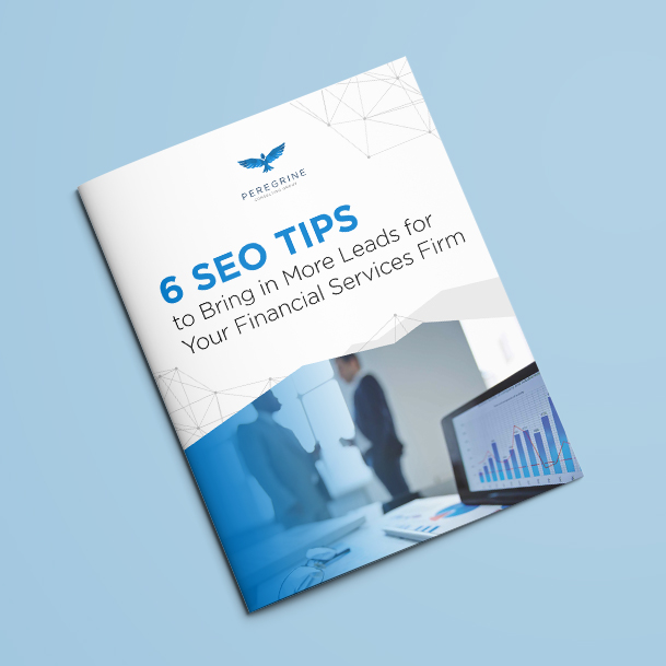 6 seo tips for financial services cover page
