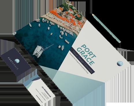 branding applications for port grace